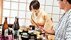 美巨乳若女将の人妻 32歳 上條悠 AVデビュー!! 美巨乳×濡れマ〇コで極上おもてなし!!