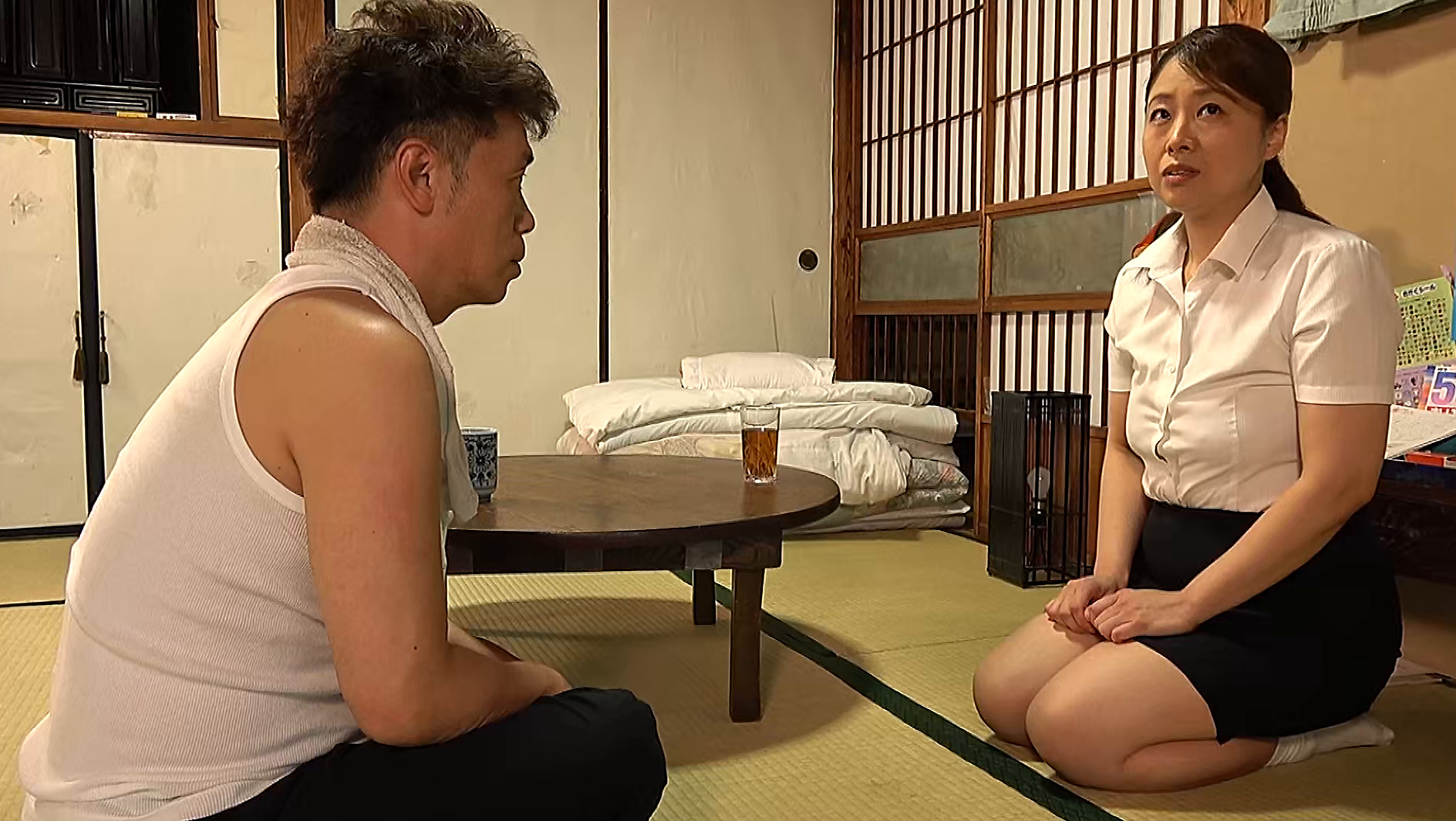 昭和猥褻官能ドラマ 明日、東京に引越しする憧れていた同級生を呼び出して・・・ 心優しい先生は教え子のお父さんに無理やり・・・ 画像16