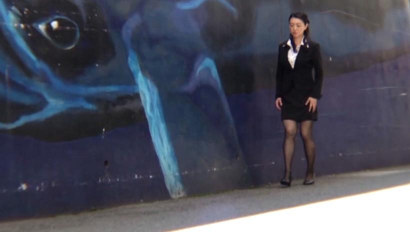 黒ストの似合う熟女4 52歳の地味なOL 画像4