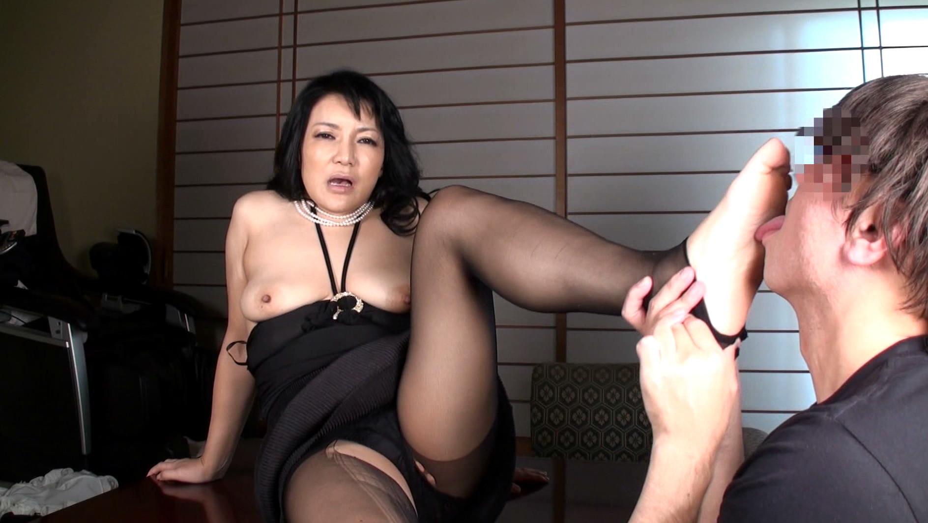 本物現役女社長 霧島ゆかり五十歳 首絞めでアクメに達する女 画像7