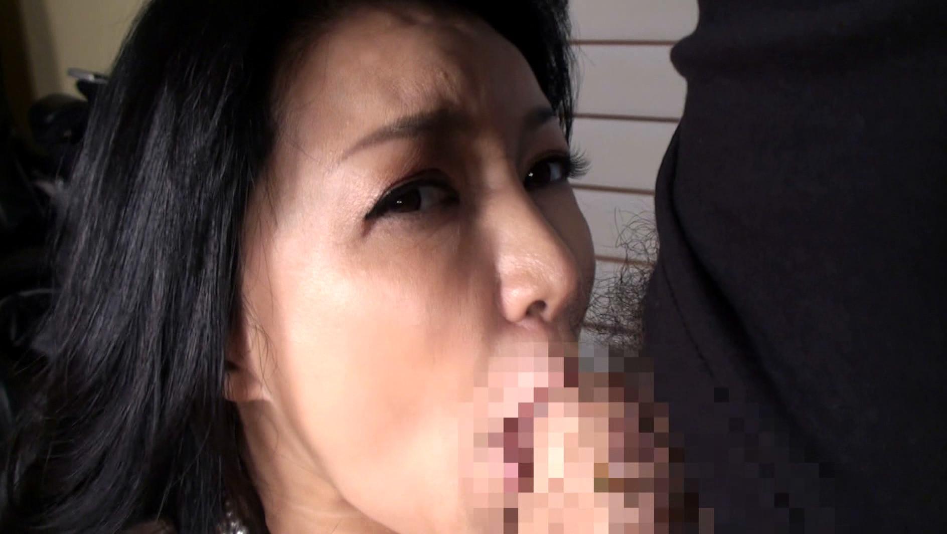 本物現役女社長 霧島ゆかり五十歳 首絞めでアクメに達する女 画像15