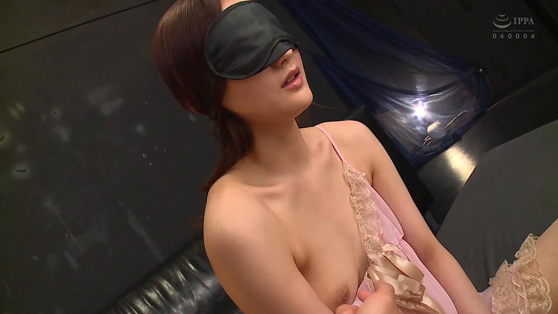 柚月ひまわり【待望の目隠しプレイにひたすら感じまくるスレンダー美女】