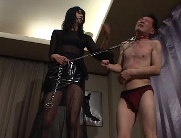 180cm長身女王様と小人奴隷 踏壊の眩暈 Mistress イヴ女王様 画像10