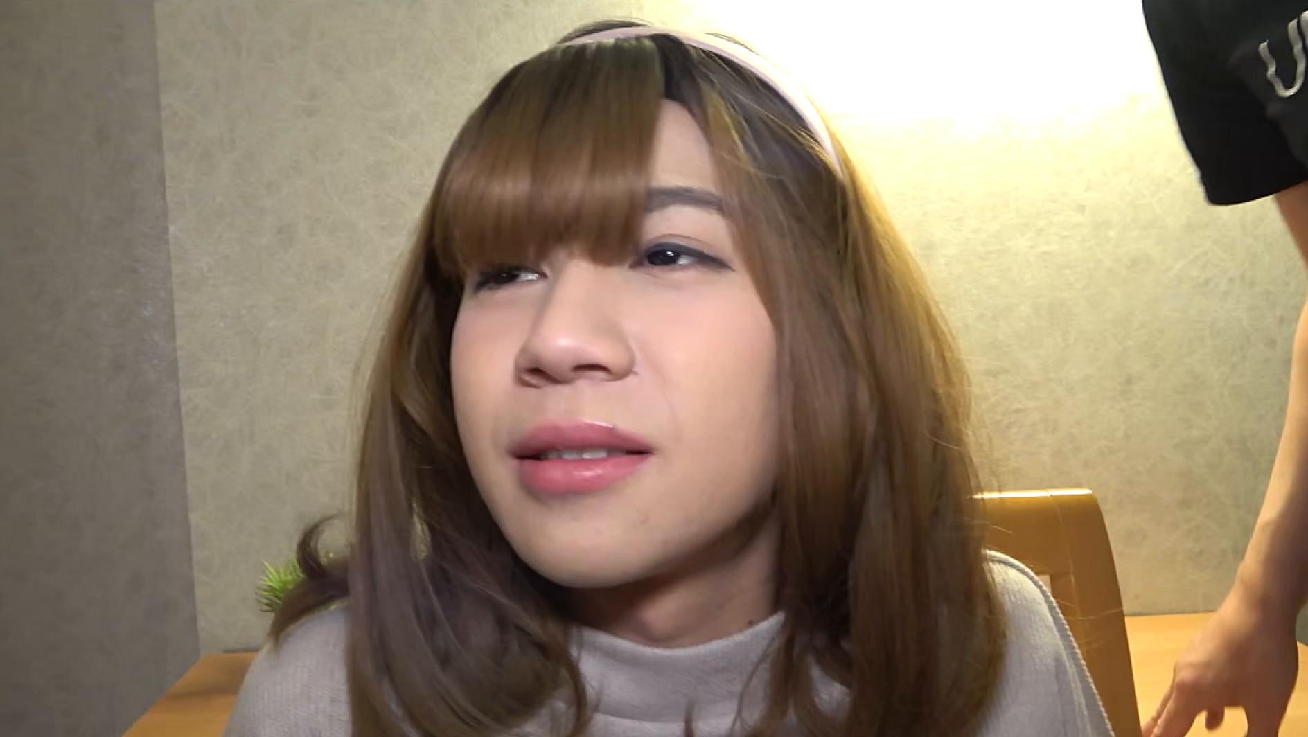 【女装子】ノンケ美男子、初めての女装&初めてのアナルSEX 画像9