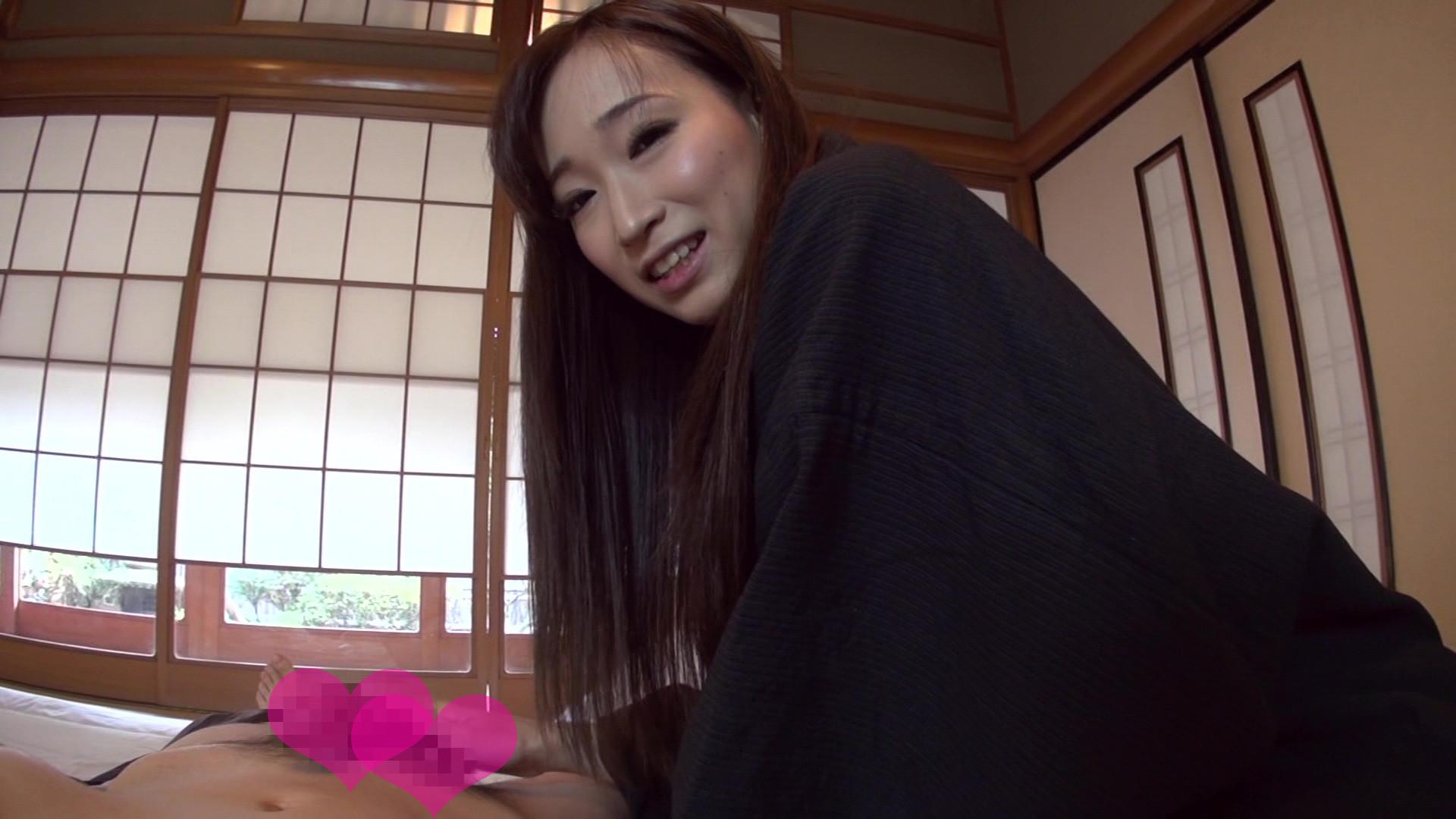 温泉宿でムラムラしてる自慢の彼女と早朝からハメハメしちゃいましたぁ!