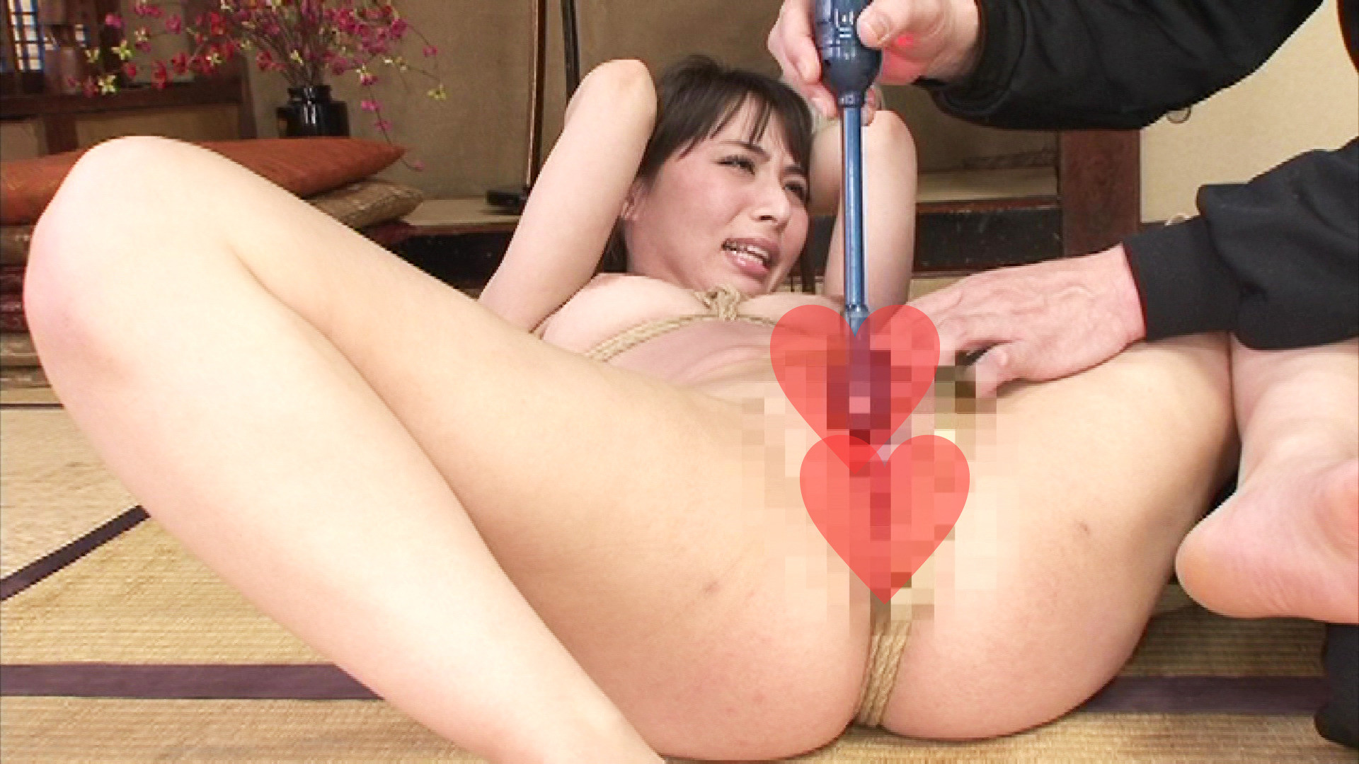 縛られながら犯されたいM嬢の願望を満たしてさし上げました・・・。