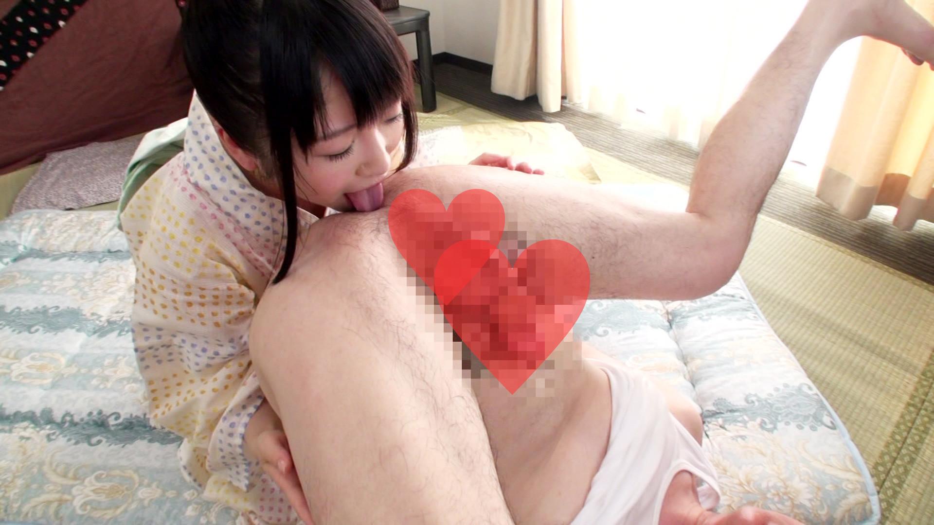 浴衣姿のちっぱい美少女にハメながら顔に精液ブッカケましたぁ~!!