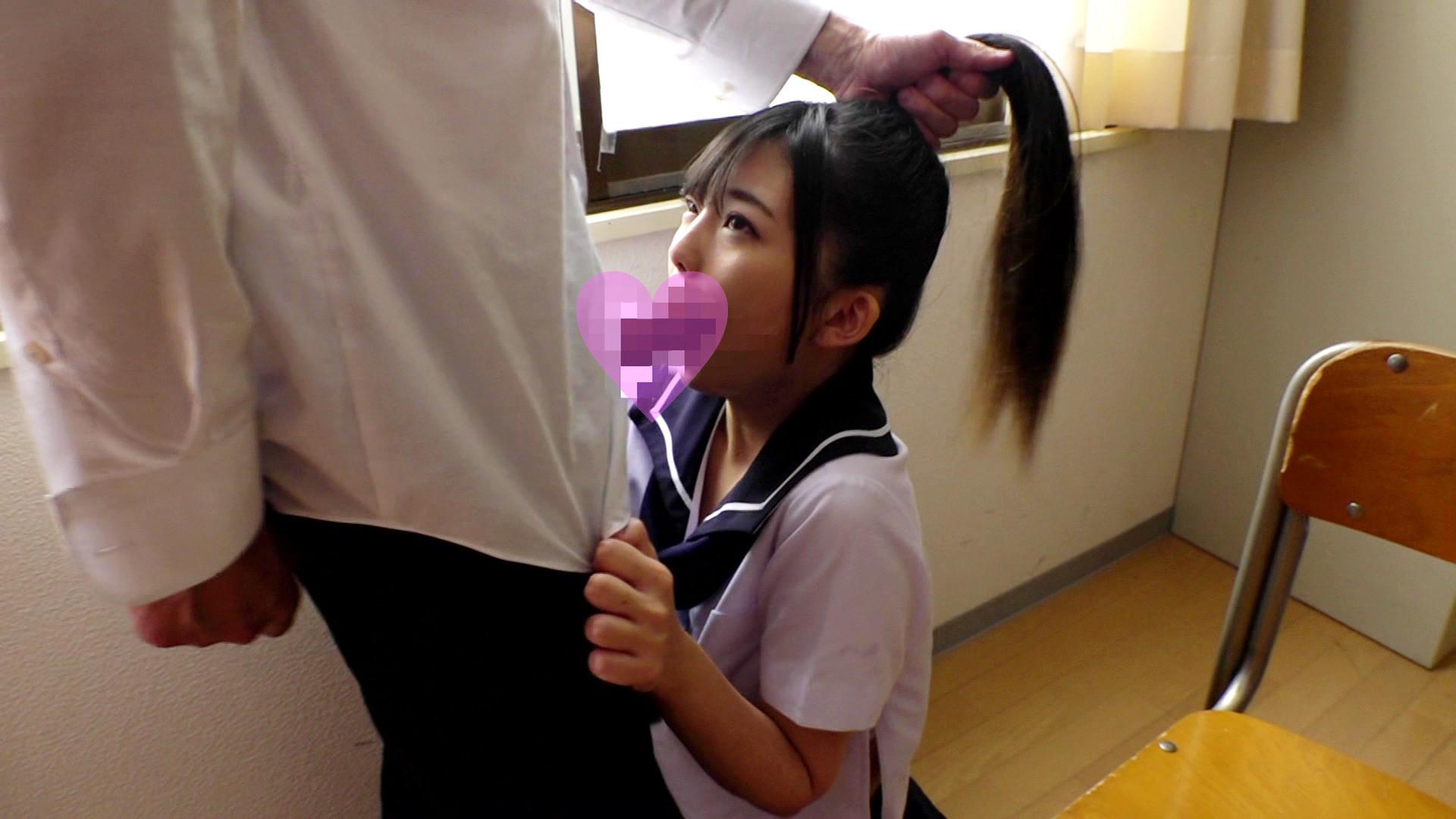 放課後の教室でポニーテールのセーラー服美少女をヤリたい放題に犯してしまいましたぁ~!