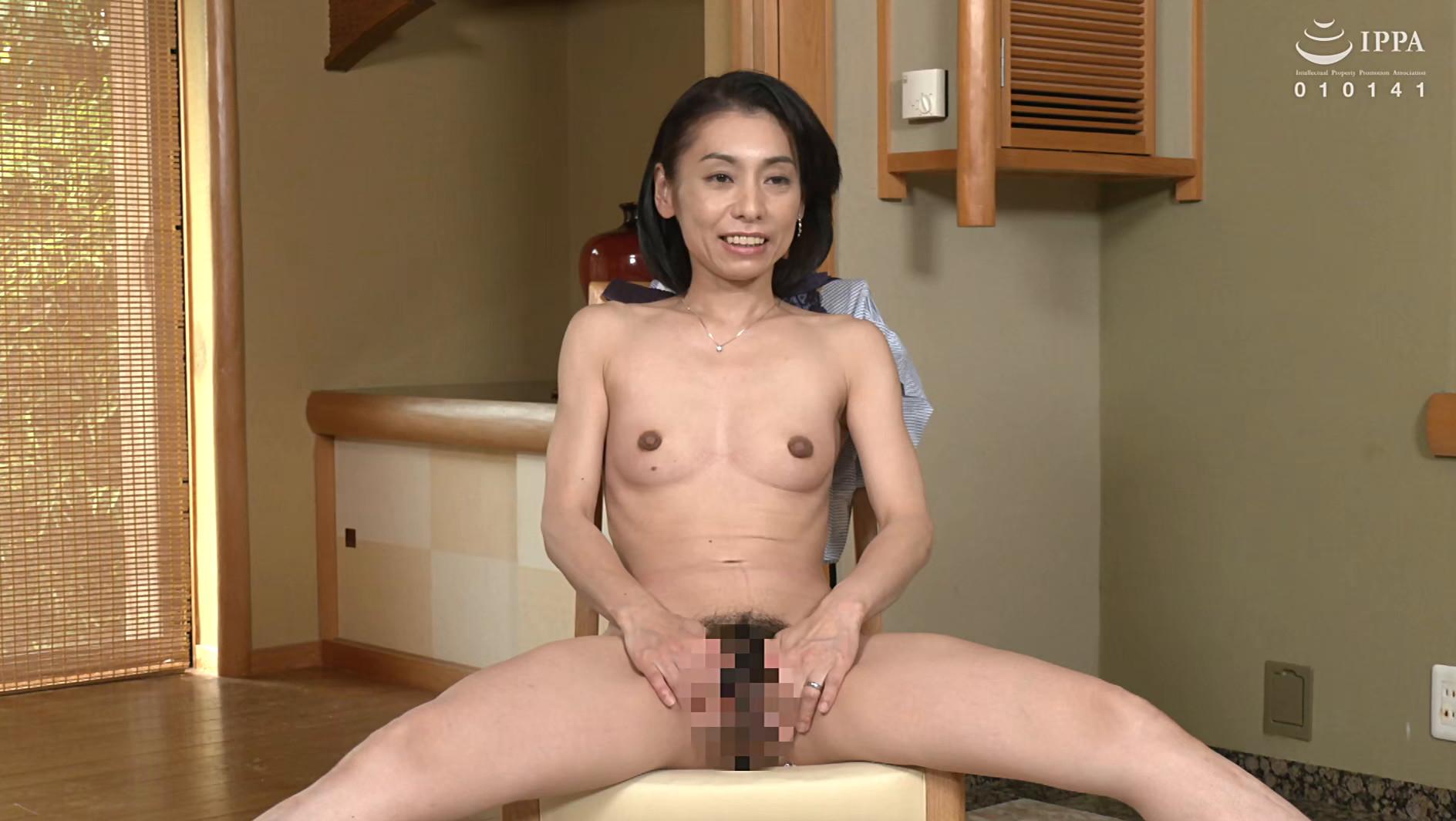 初撮り五十路妻ドキュメント 大川祥恵 五十二歳,のサンプル画像2