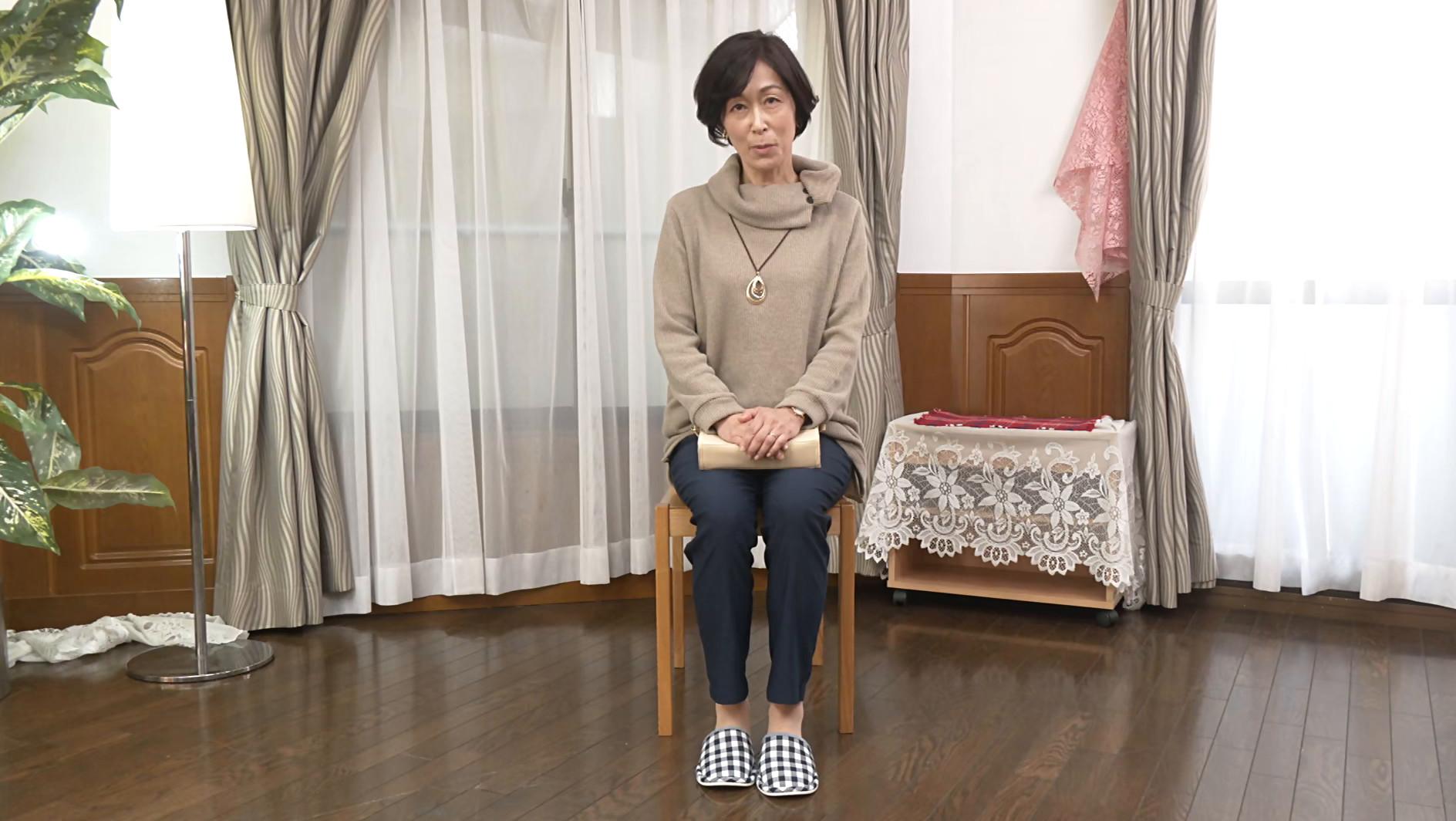 初撮り五十路妻ドキュメント 堀美也子 五十三歳 画像1