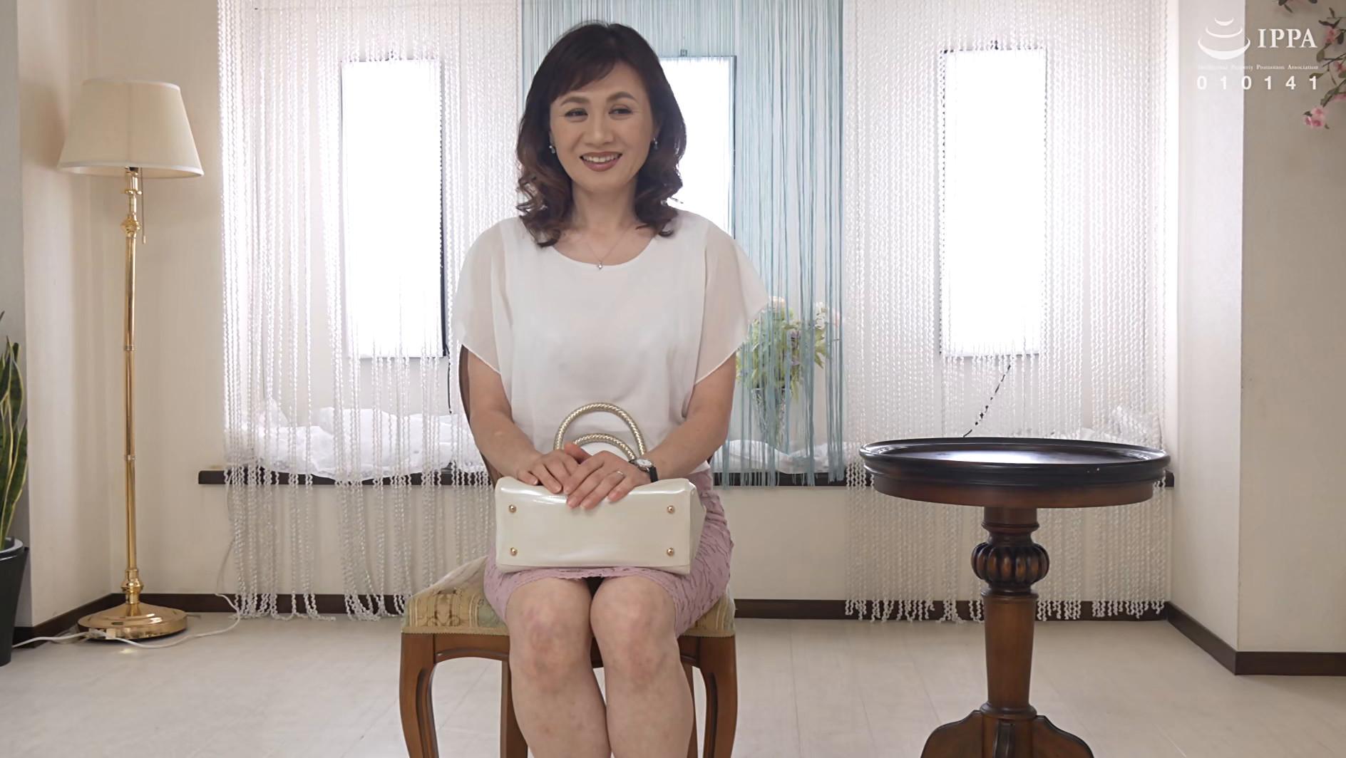 初撮り五十路妻ドキュメント 岡崎智江 五十五歳 画像1