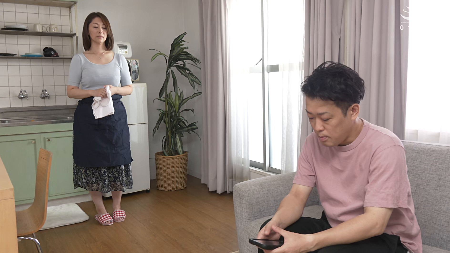 我が家の美しい姑 翔田千里 五十三歳 画像1
