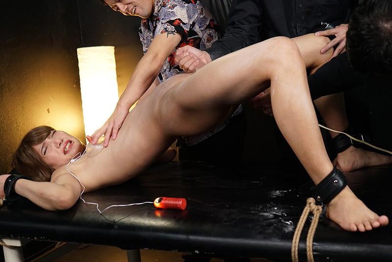 女装子スパイ拷問処刑 肛門媚薬嬲りとイキリ勃つ肉棒 秋津小町 画像10