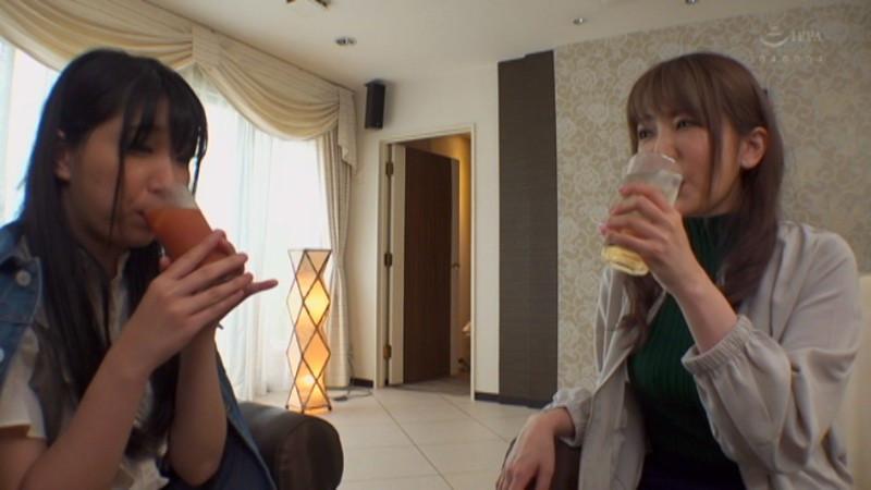 波多野結衣×みひな 酔うとエロくなる二人が一緒にお酒を飲んだら・・・本気で求め合う密着濃厚レズSEXが見れた! 画像2