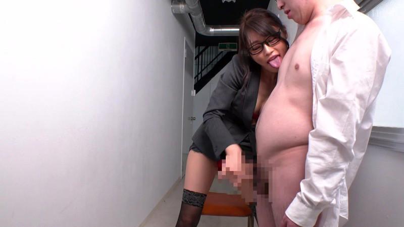 射精管理お姉さん 広島弁で僕だけを射精管理する先生 七海ひな 画像11