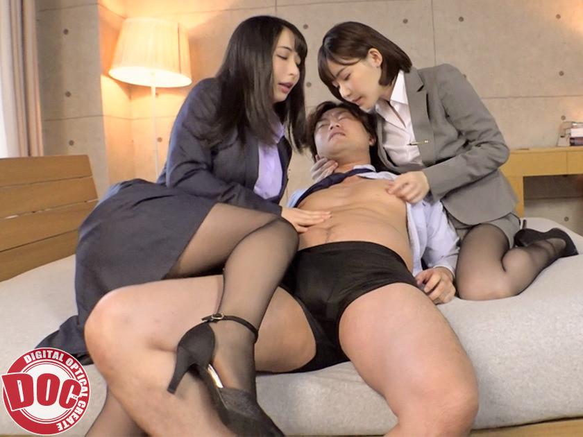 アナタは黙って寝てなさい! 私たちが乳首でヌいてあげるっ!!,のサンプル画像6