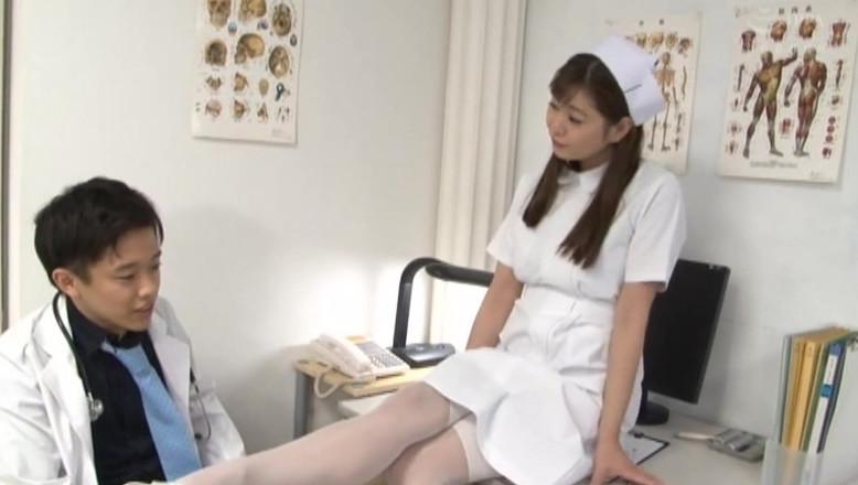 病院中の男のアナルを●す天才S痴女ナースがいるM性感クリニック 葵百合香 画像1