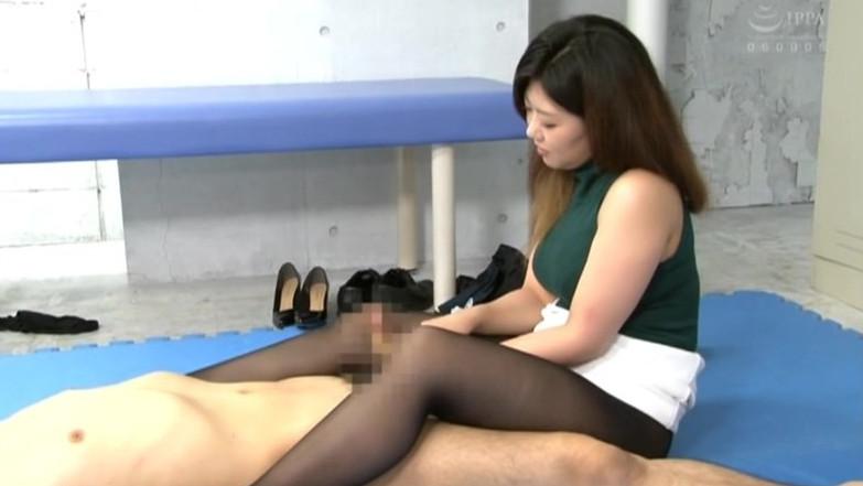 痴女お姉さんのむちむち黒パンスト狭射#2 画像14