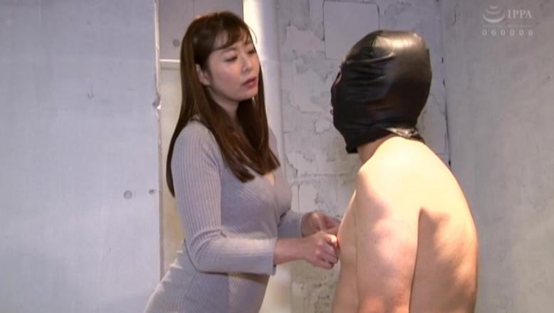 着たままの痴女様と全裸プレイ 完全着衣痴女と全裸M男のCFNM 葵百合香 画像6