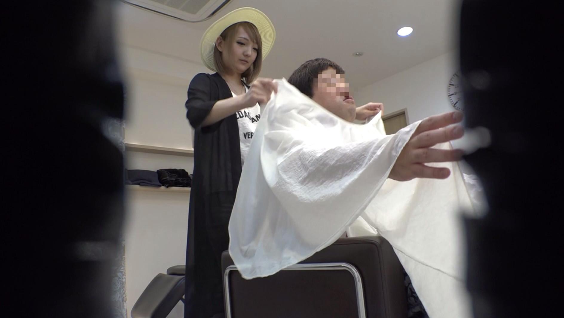 2度見しちゃうほど可愛い金髪美容師は小悪魔スレンダー美少女でした 画像1