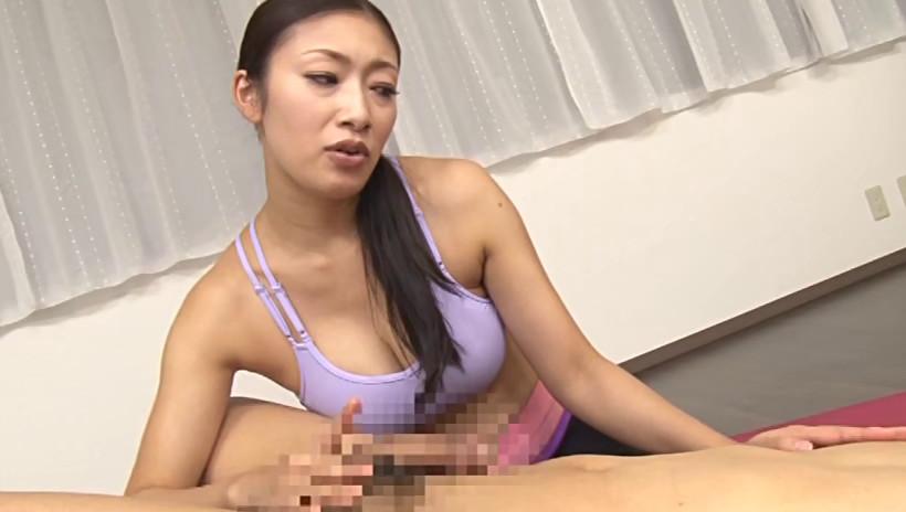 ヨガ教室に出会い目的で行ったらインストラクターにイジメられて何度も射精させられた。 小早川怜子 画像19