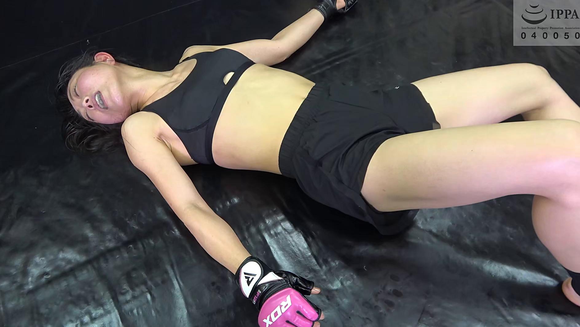 悶絶総合格闘技、キックボクシング003 神崎まゆみvs鮫島るい 画像4