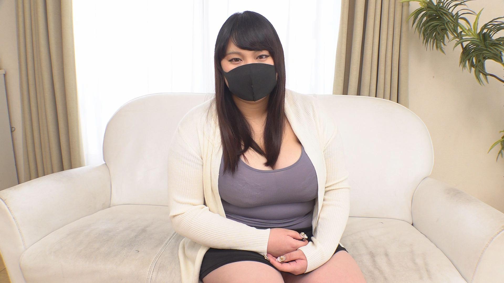 GAS独占新人 マスクでも撮りたかった張りのあるJカップ19歳 桜井美沙 画像1