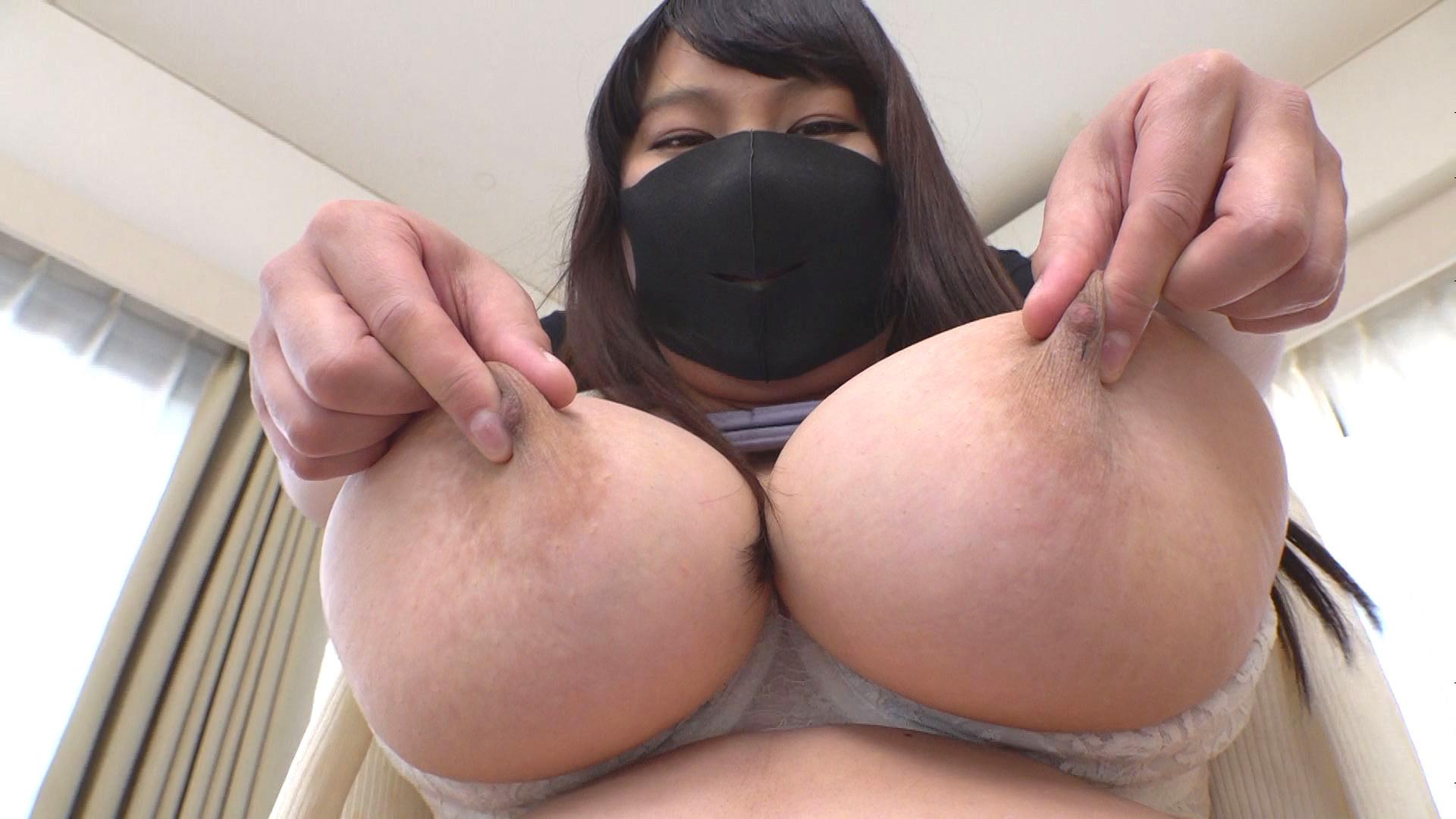 GAS独占新人 マスクでも撮りたかった張りのあるJカップ19歳 桜井美沙 画像4