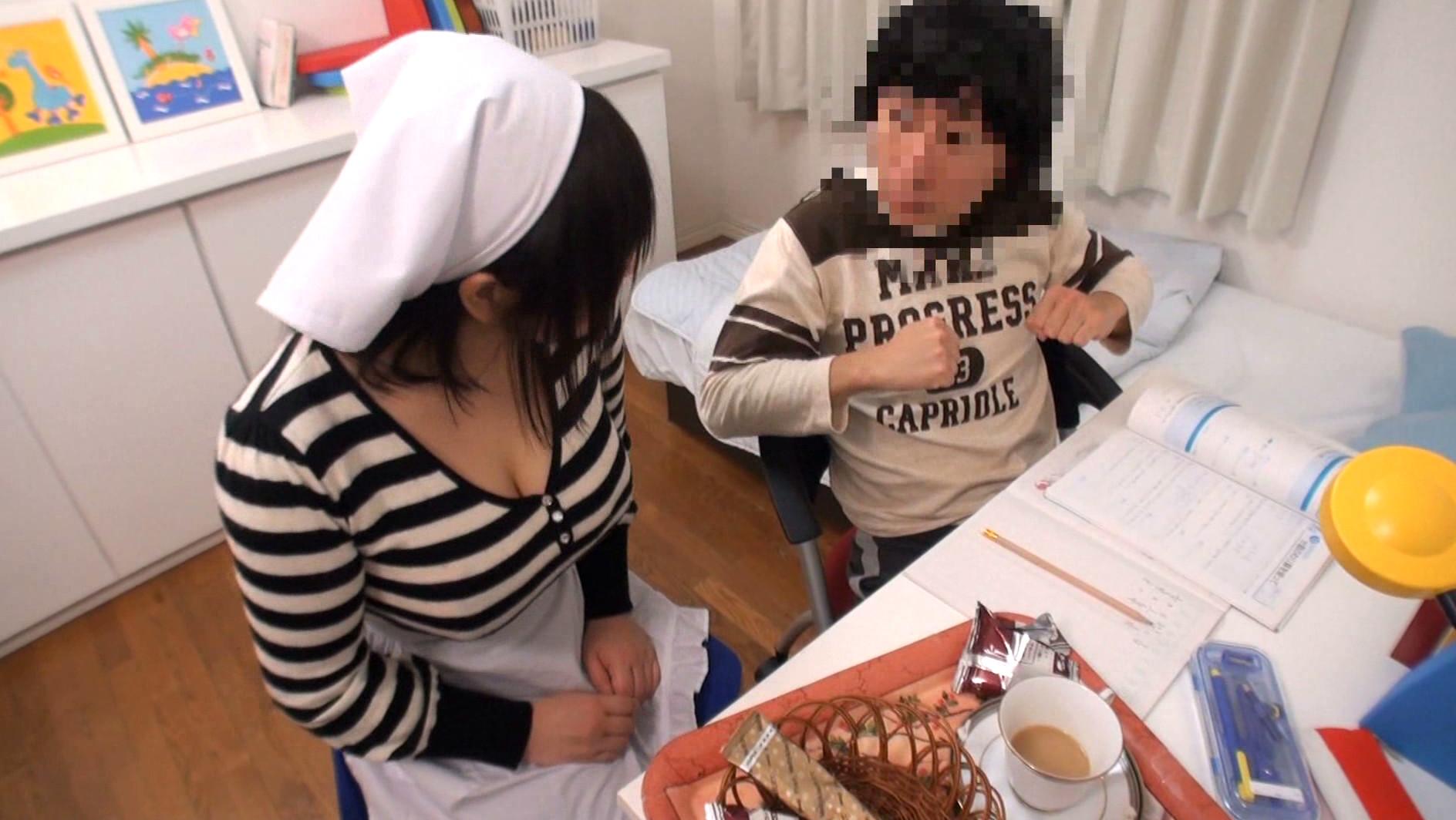 ボイン大好きしょう太くんのHなイタズラ 栗崎紗理奈 画像3