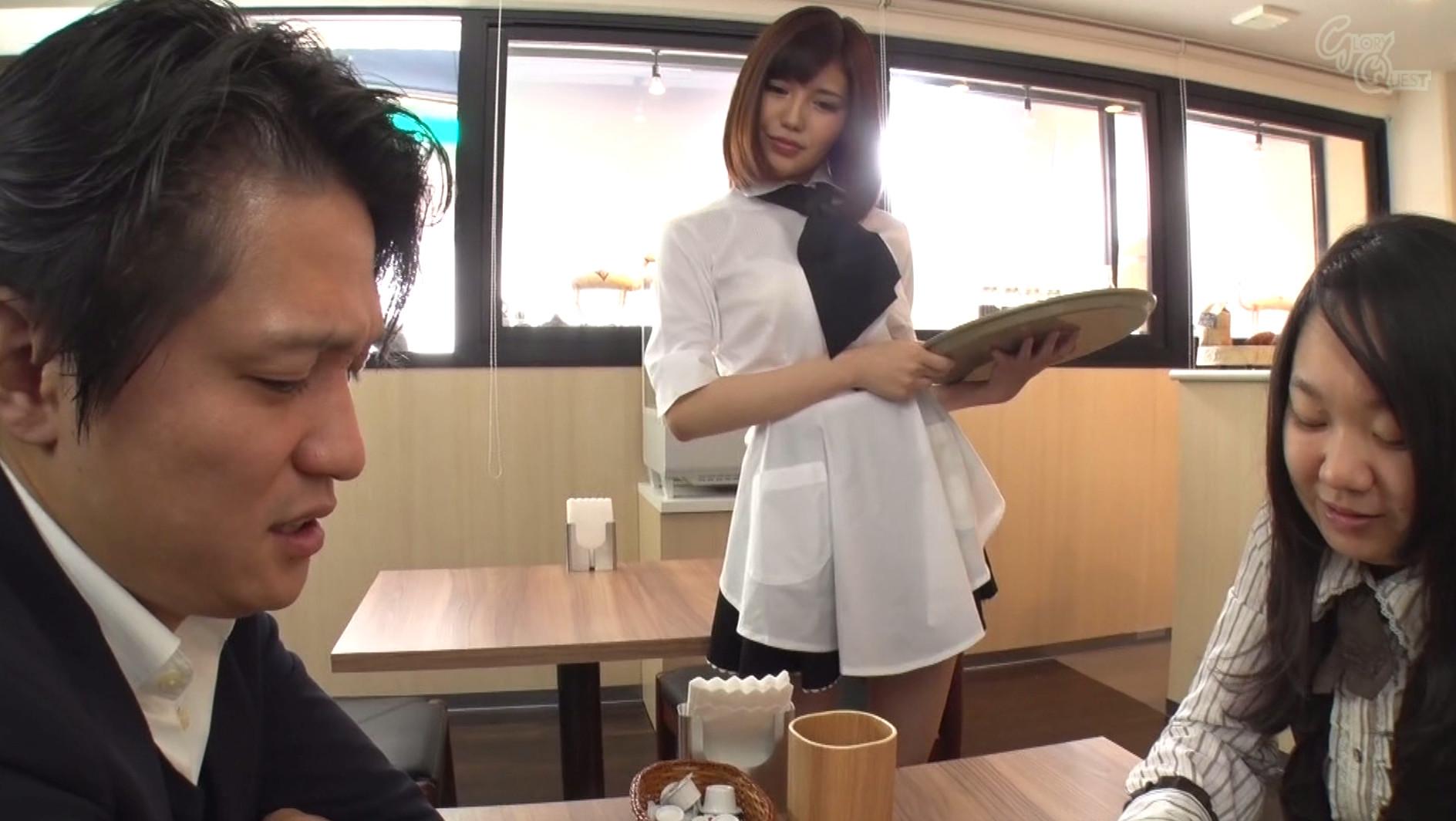 ザーメン大好きごっくん小悪魔が働くCafe 有賀ゆあ 画像2