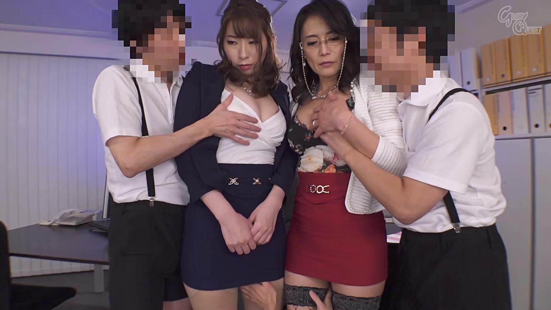 お色気P●A会長&悩殺女教師と悪ガキ生徒会 平岡里枝子/宝田もなみ 画像21
