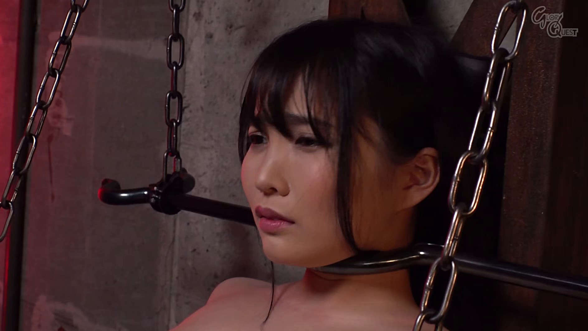 Ma○ko Device Bondage 21 鉄拘束マ○コ拷問 枢木あおい 画像12