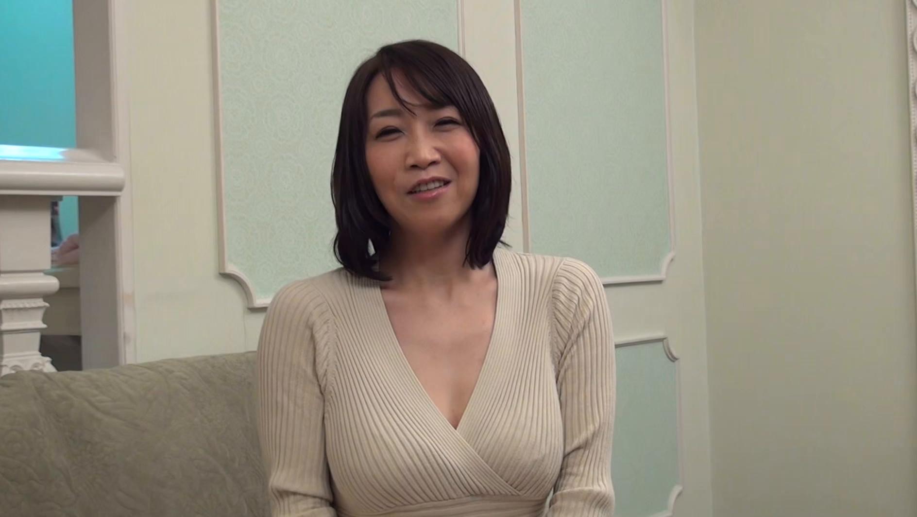 【四十路】応募素人妻 美奈子さん 46歳,のサンプル画像1