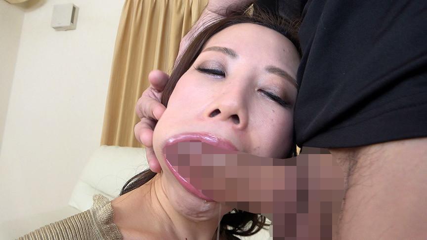 憧れのデカチンでイラマチオ志願!上下の口でイキまくる美熟女 沙蘭さん(43)