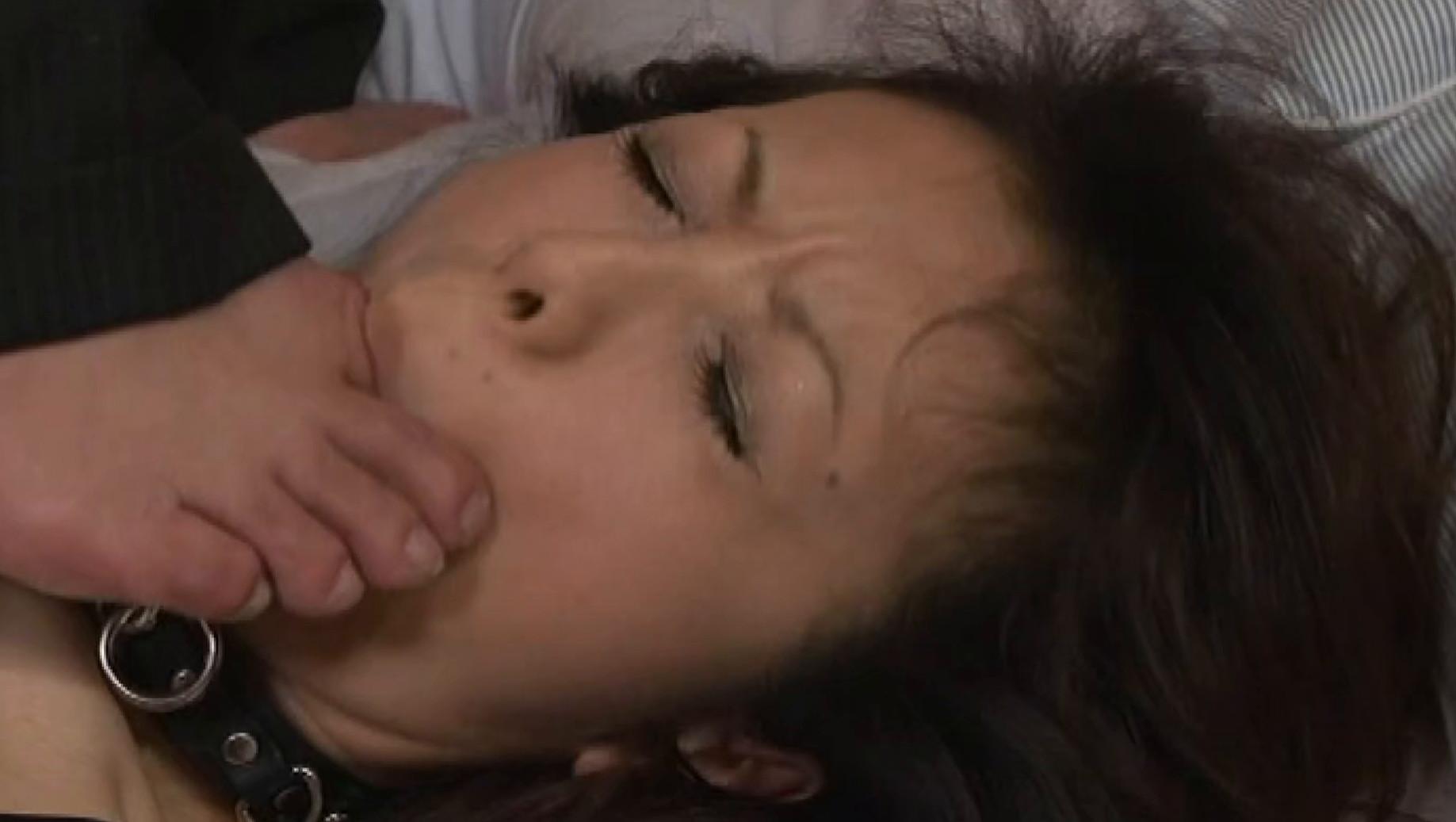変態中年おやじに調教されアへ顔で精液大量受け入れたオンナ 画像13