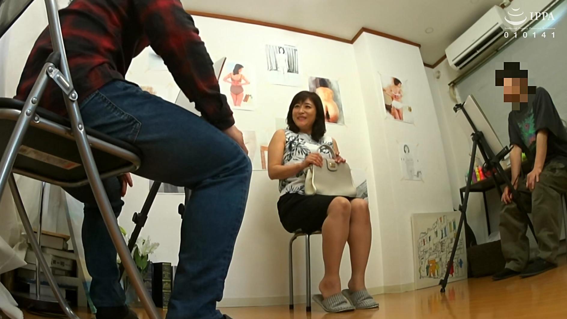 ヌードデッサンモデルの高額アルバイトでやってきた人妻さんに男根挿入して種付けSEXするビデオ 総集編 20人8時間 画像20