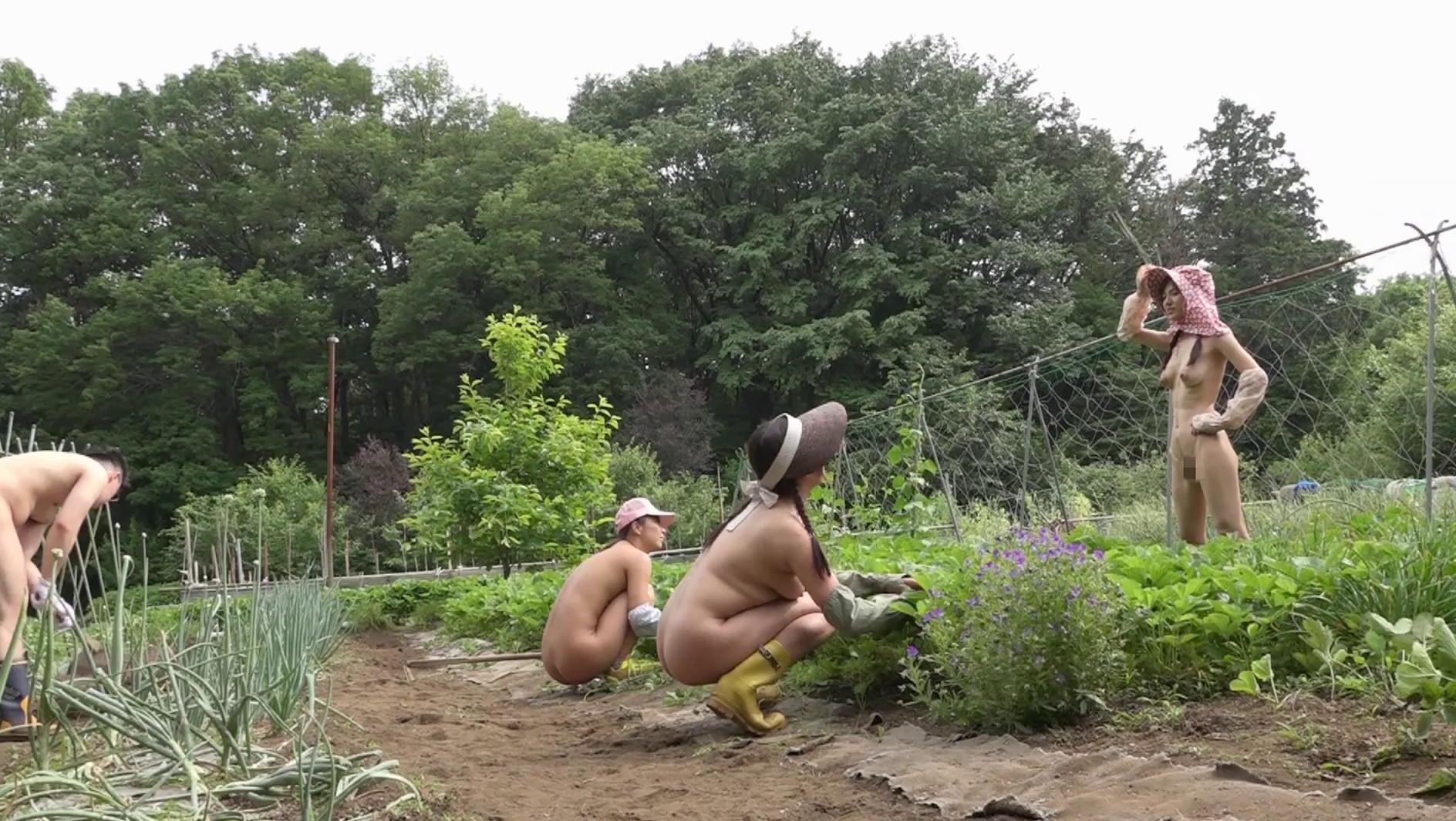 全裸若農婦は実在した!?