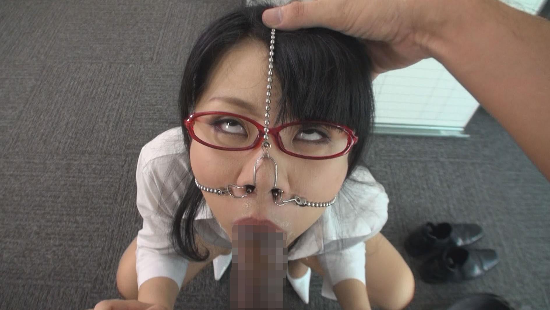 豚鼻フェラ 画像2
