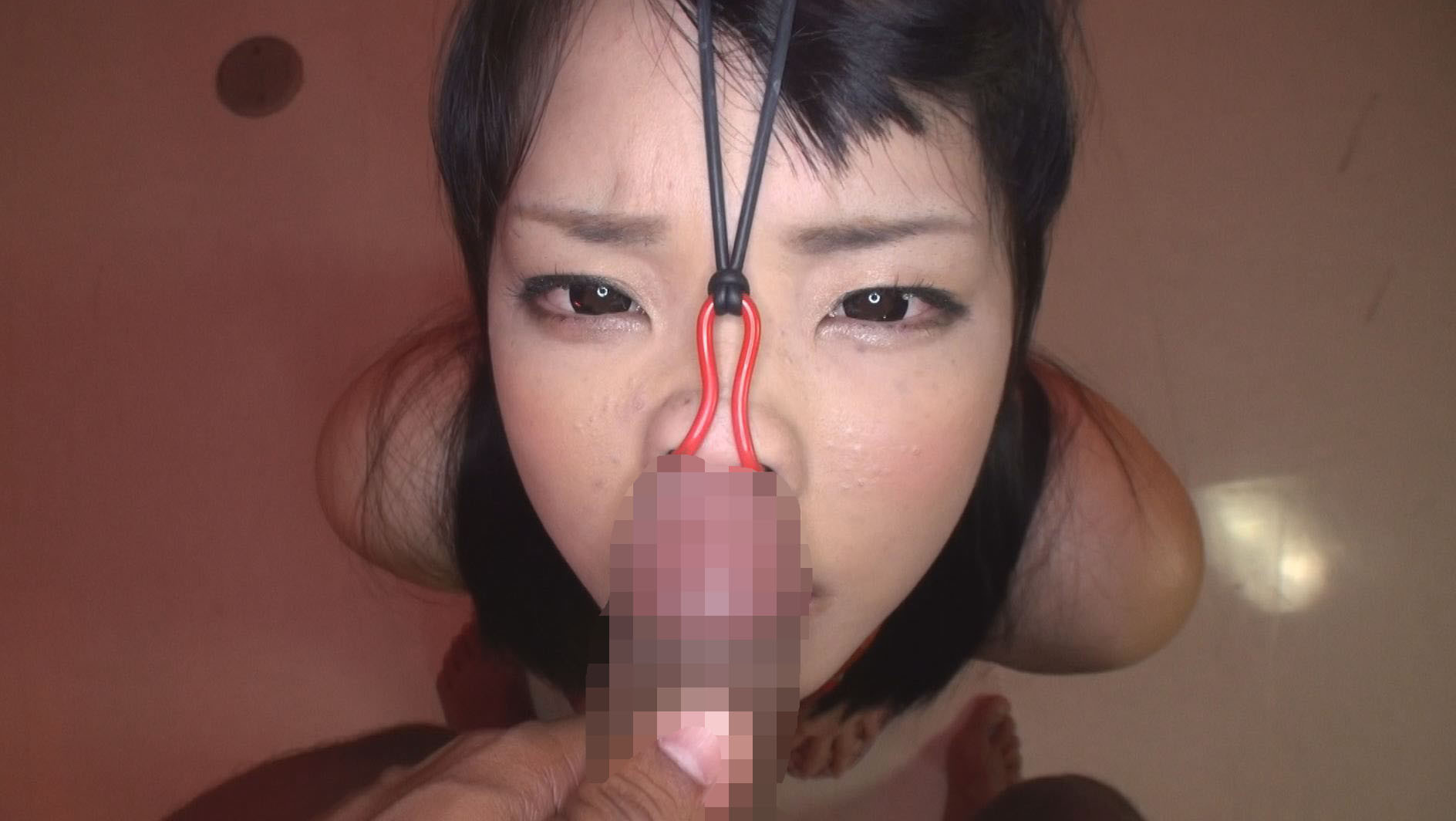 豚鼻フェラ 画像9
