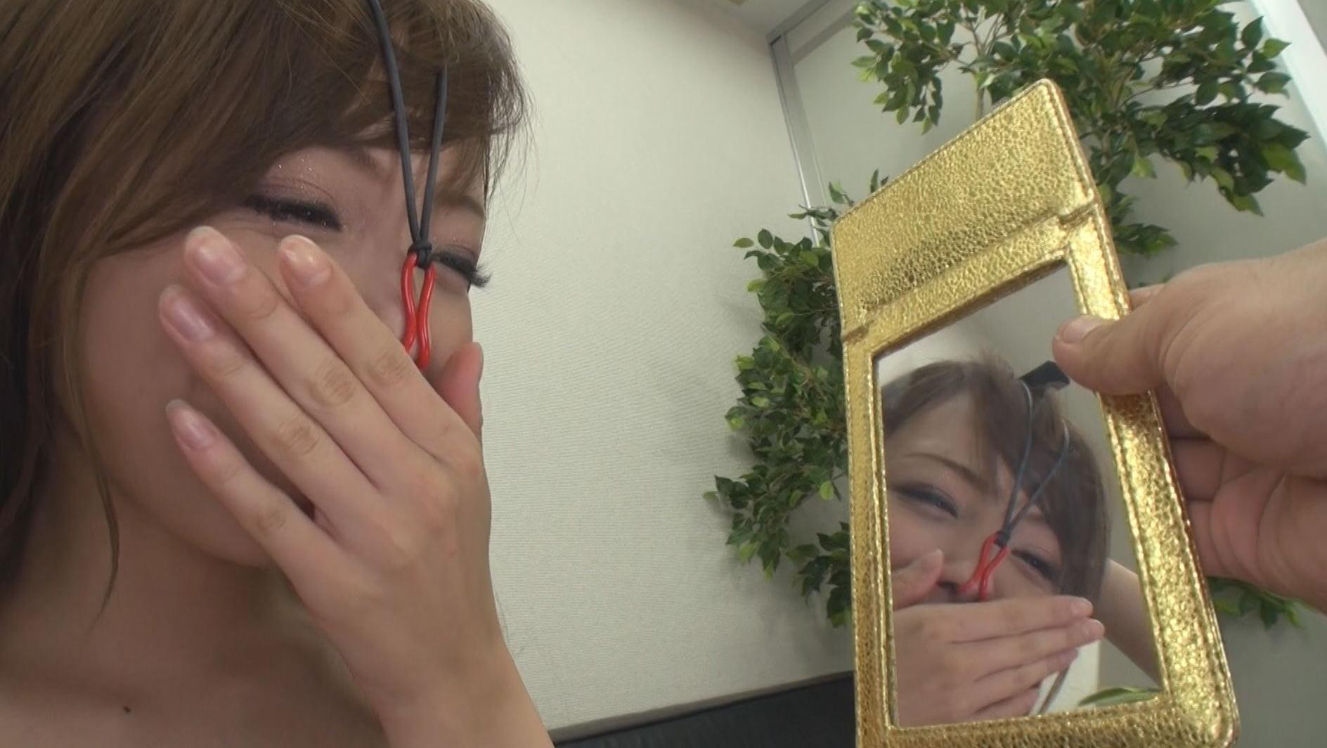 美顔羞恥 豚鼻フェラ 画像6