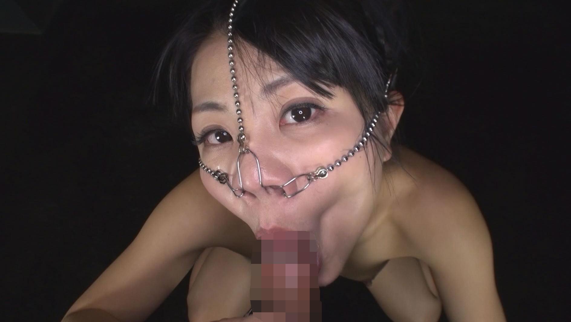 美顔羞恥 豚鼻フェラ 画像15