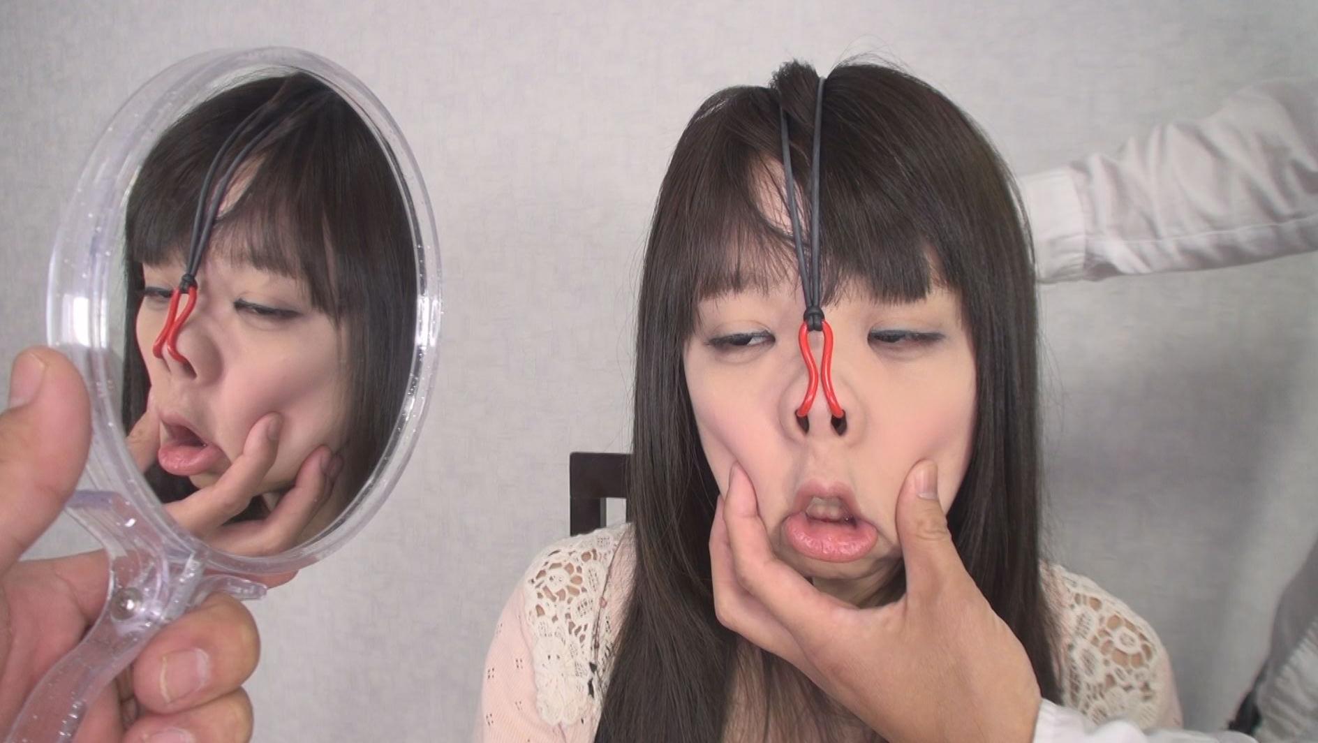 美顔羞恥 豚鼻フェラ 画像16