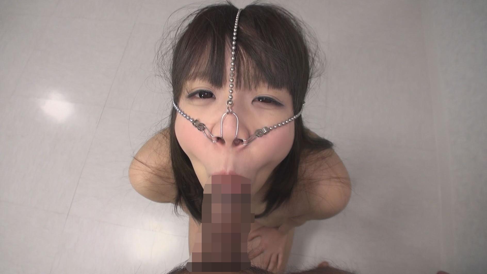 美顔羞恥 豚鼻フェラ 画像19