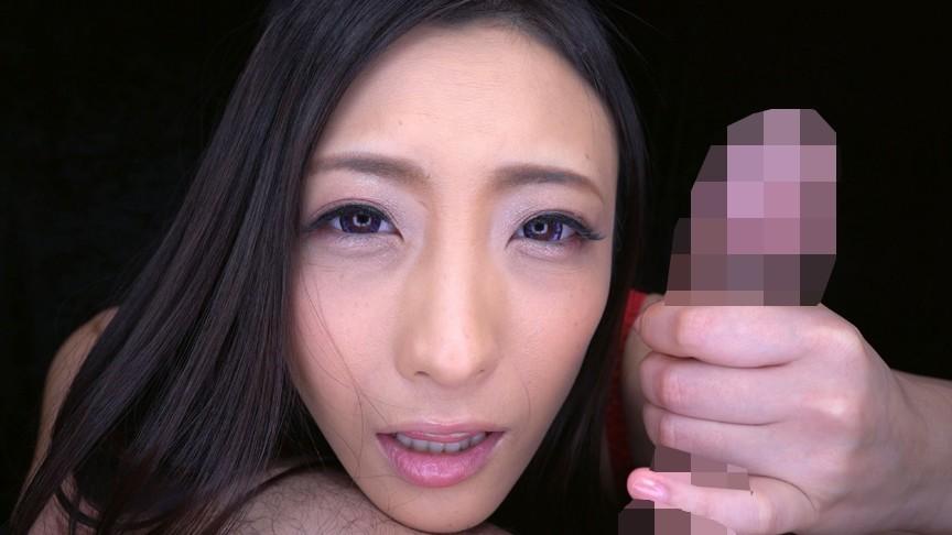 濡れ顔ガン見手コキ 画像9