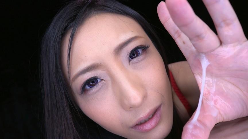 濡れ顔ガン見手コキ 画像10
