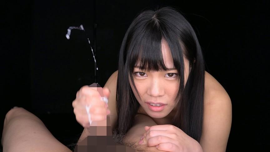 濡れ顔ガン見手コキ 画像15