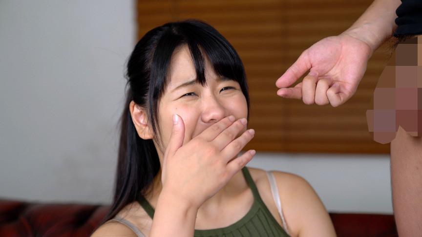 臭いチンカスち〇ぽの匂いに興奮し鼻コキする変態女 画像1