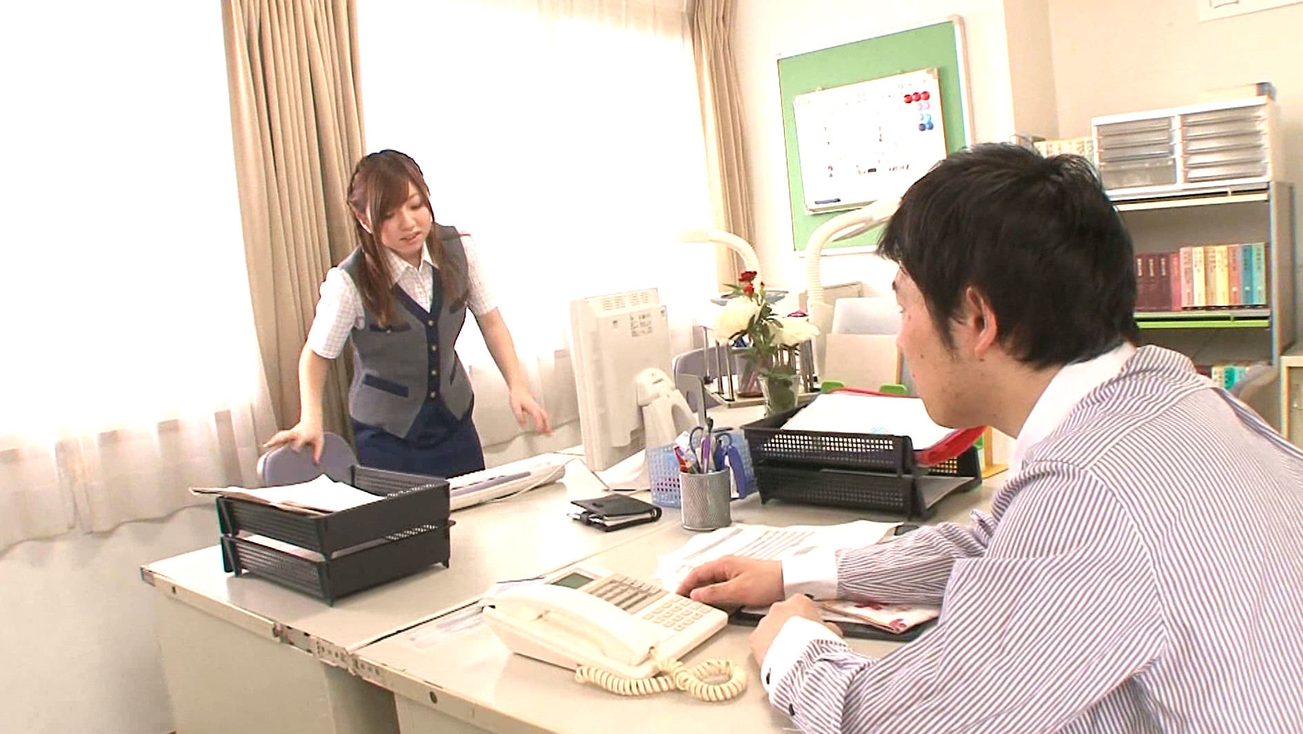 妄想オフィス OL 三嶋沙希 画像7