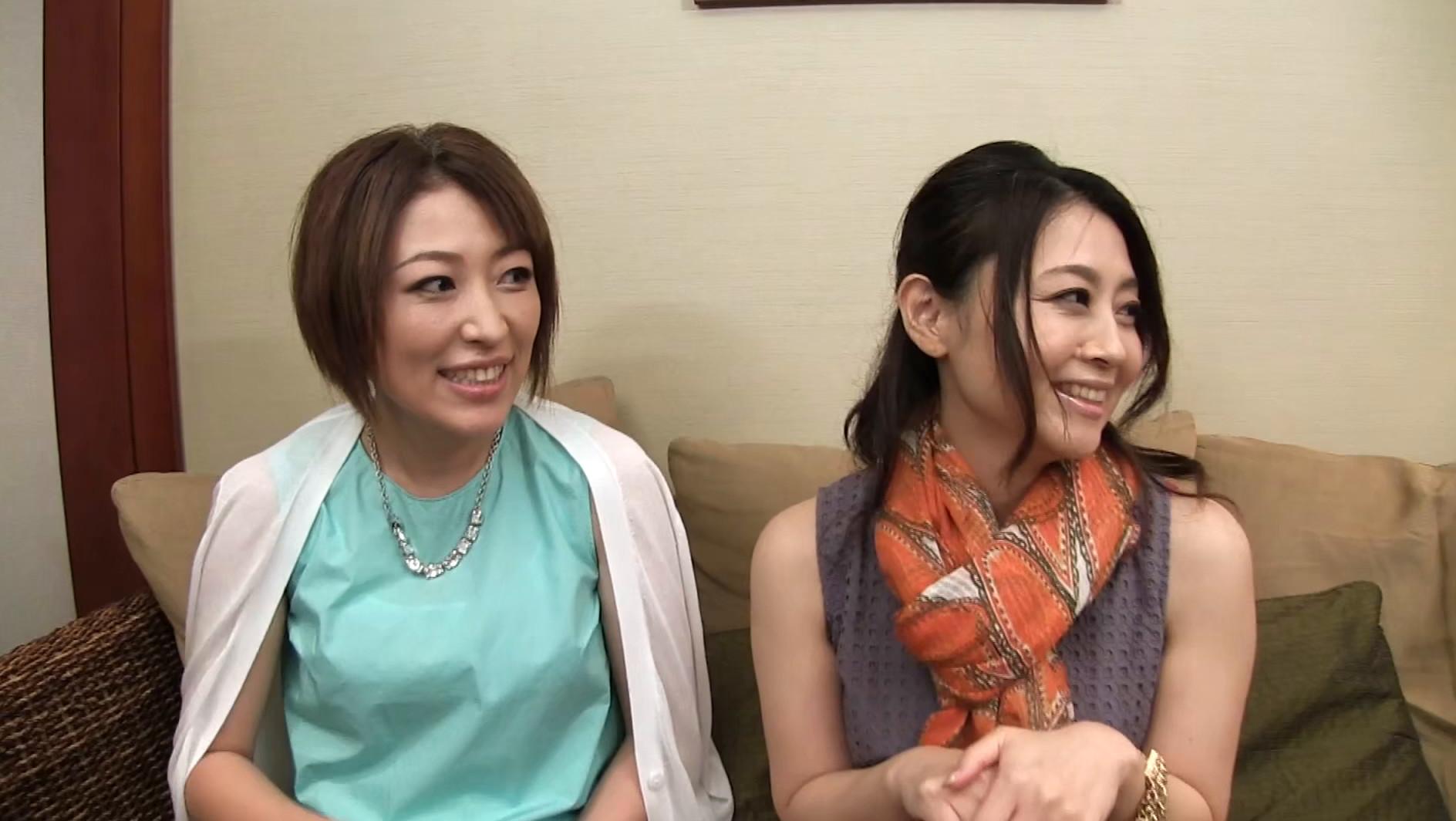 【四十路】素人熟妻インタビュー 84・85人目