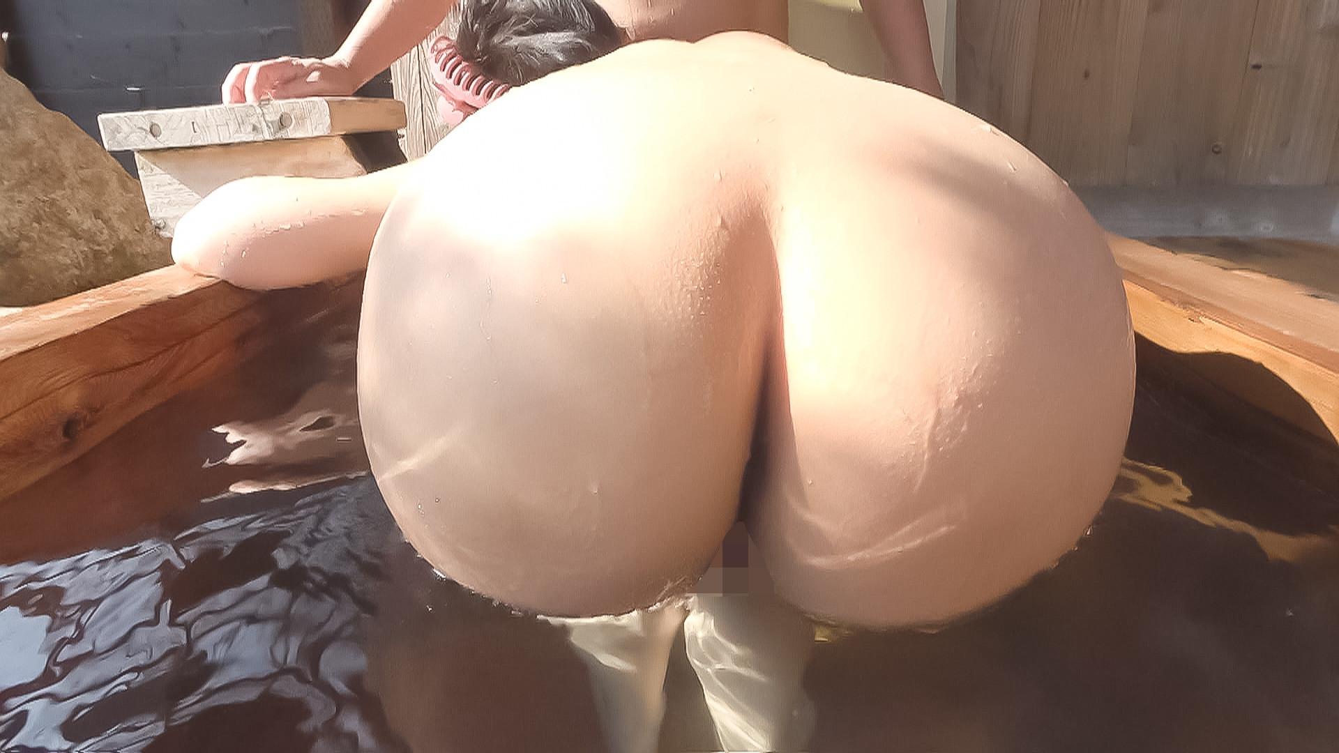 中出し露天温泉 国宝級マシュマロおっぱいIカップむっつりスケベなエロエロお姉さん 画像3